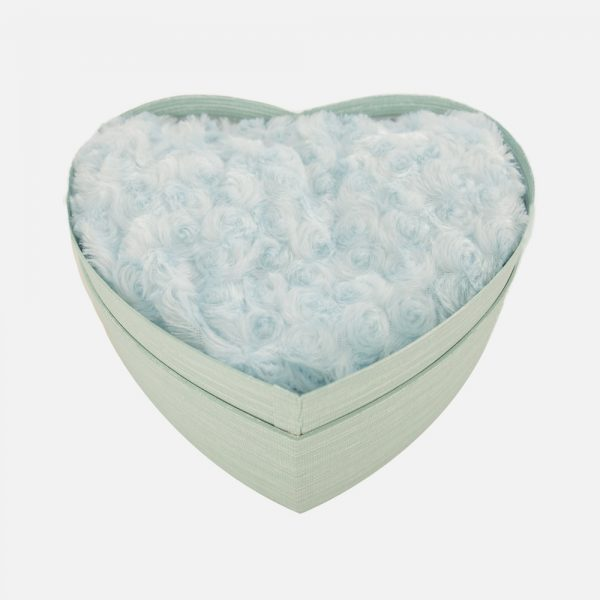 Heart Box Gift Set Blue