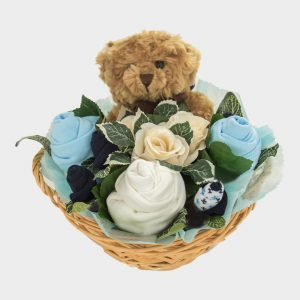 Baby Teddy Bouquet Blue