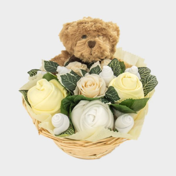 Baby Teddy Bouquet Lemon