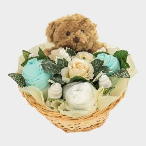 Baby Teddy Bouquet Mint