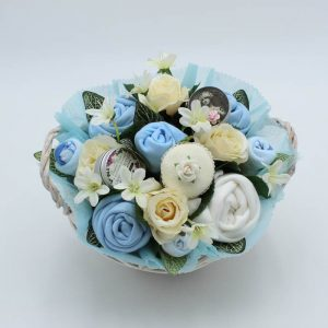 Deluxe Pampering Bouquet Blue