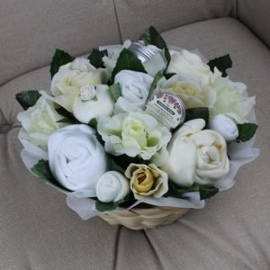 Deluxe Pampering Bouquet Neutral - Baby Clothing Bouquet