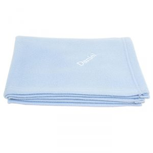 Personalised Blanket Blue
