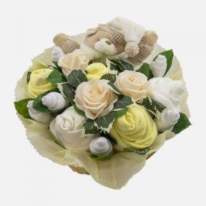 Snuggles Comforter Bouquet Lemon