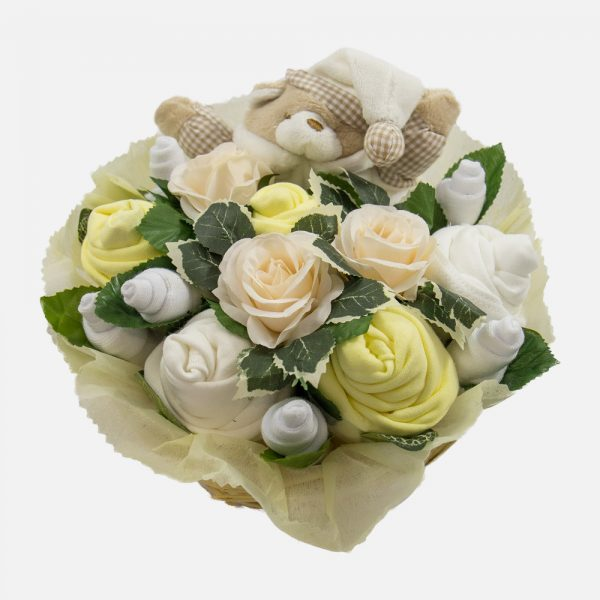Snuggles Comforter Bouquet Lemon