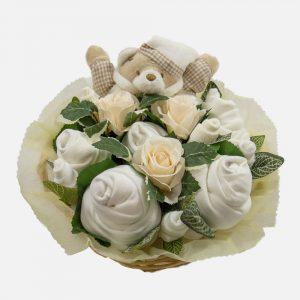 Snuggles Comforter Bouquet Neutral