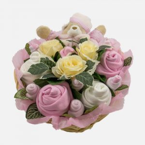 Snuggles Comforter Bouquet Pink