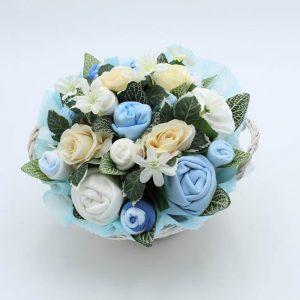 Super Deluxe Baby Bouquet Blue