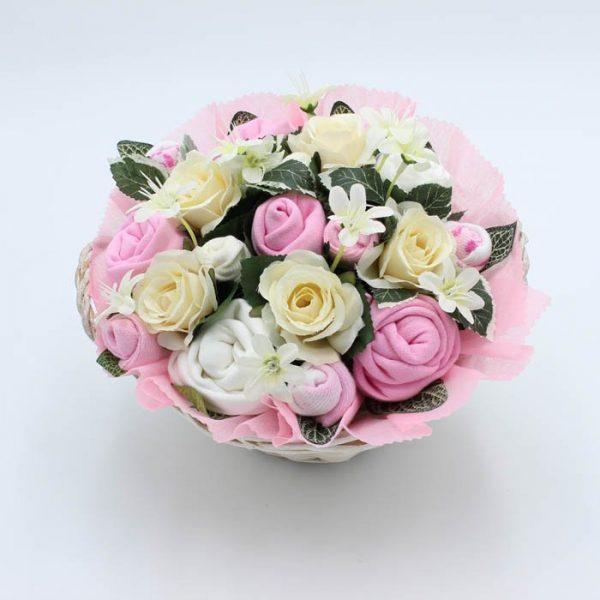 Super Deluxe Baby Bouquet Pink
