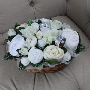 Superior Pampering Bouquet Neutral - Baby Clothing Bouquet
