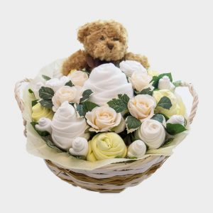 Supreme Teddy Bouquet Lemon