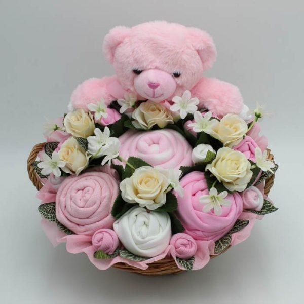 Supreme Teddy Bouquet Pink