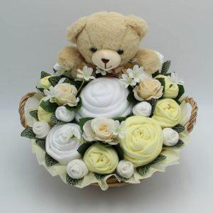 Supreme Teddy Bouquet Lemon