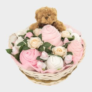 Supreme Teddy Bouquet Pink