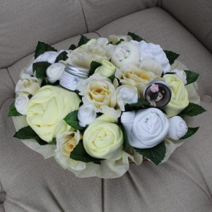 Superior Pampering Bouquet Lemon - Baby Clothing Bouquet