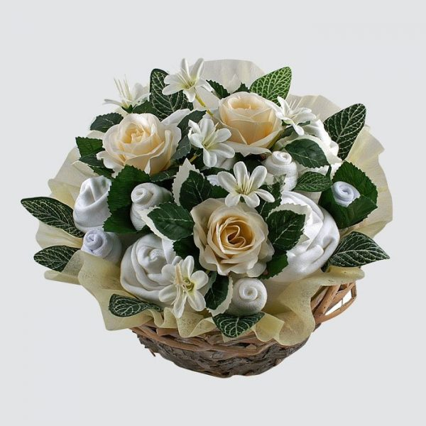 Twins Deluxe Baby Bouquet Neutral