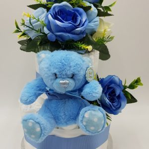 teddy-chocolates-baby-bouquets 1