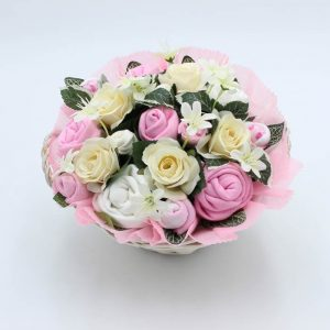 Twins Luxury Baby Bouquet Pink